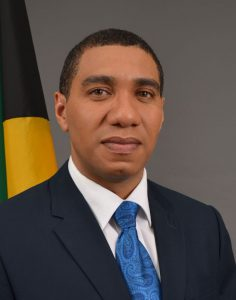 Jamaica Prime Minister Andrew Honess
