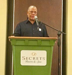 Dr. Phillips addresses NAJASO delegates