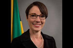 Sen. the Hon. Kamina Johnson-Smith, Minister of Foreign Affairs & Foreign Trade