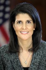U.S. UN Ambassador Nikki Haley
