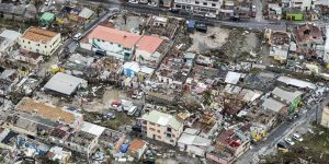 Barbuda - Irma damage
