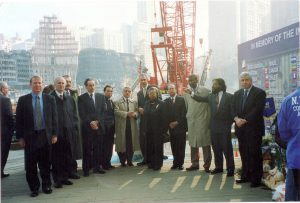 Security Council Visit to the World Trade Center - 2001
