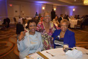 Congresswoman Clarke, former Rep. Donna Christensen & Sen. Shirley NAthan Pulliam