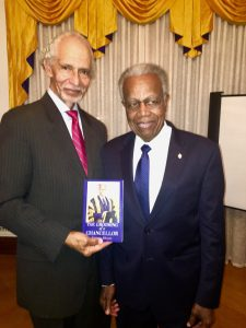 Ambassador Curtis Ward & Sir George Alleyne at book launh