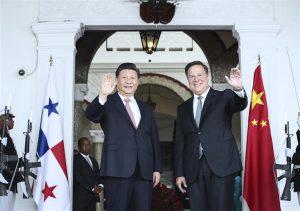 President Xi Jinping & Presoident Juan Carlos Valera