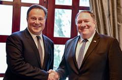 President Valera & Secretary Pompeo