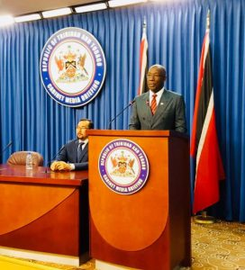 Prime Minister Keith Rowley